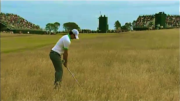 Verloren: Rory McIlroy erlebt bei der Open sein Allzeittief.