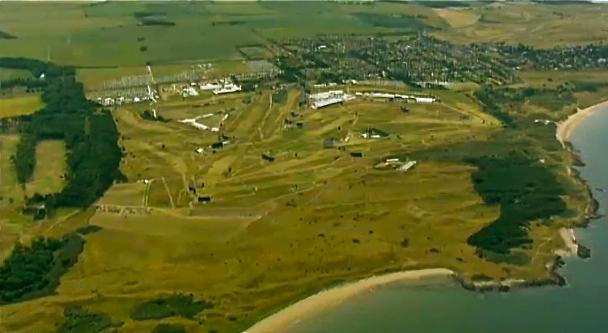 Der Open-Schauplatz: Muirfield gilt als fairster Kurs der Rota – nur das Rough …