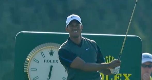 Tiger Woods: Noch nie ein Major gewonnen, wenn er nicht nach der dritten Runde geführt hat.