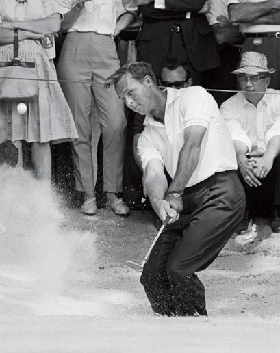 """Arnold Palmer:  """"The King"""" wollte das ganz große Ding. © MiB"""