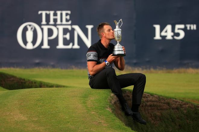 Henrik Stenson, Champion Golfer of the Year 2016