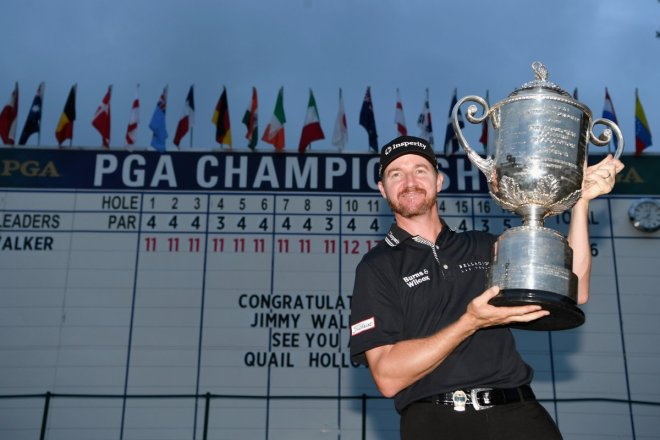 Jimmy Walker and the Wanamaker Trophy